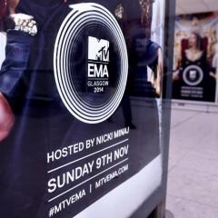 Gli MTV EMAs conquistano Glasgow!